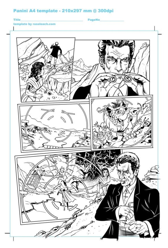 Doctor Who Adventures - Unpublished Twelfth Doctor Strip 6