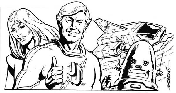 """Who remembers """"Jet Jason"""" by Dave Gibbons? A look back at British Airways Fleetwings magazine"""