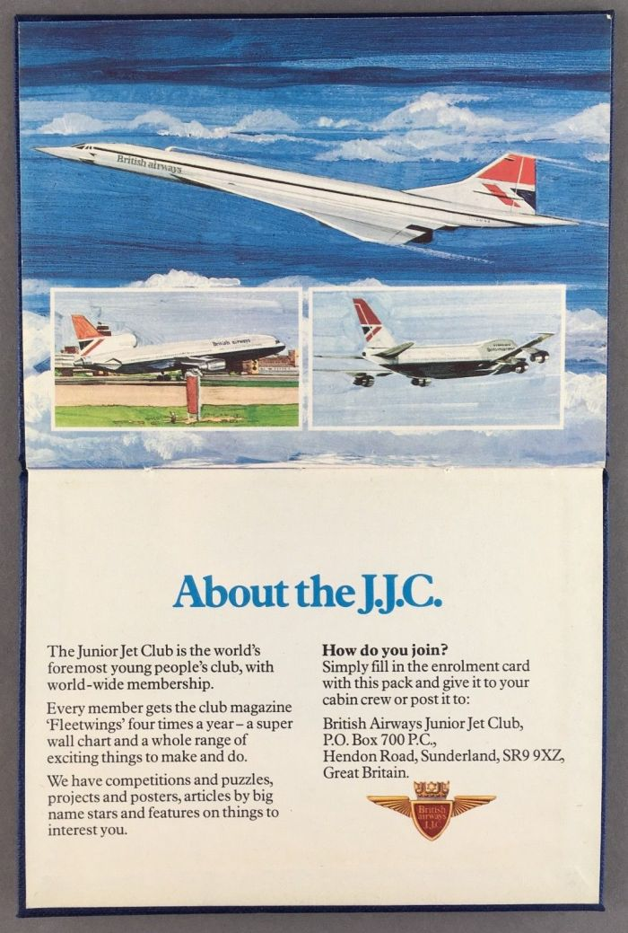 Junior Jet Club 1979 Briefing Pack