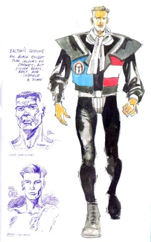 One of Jim Baikie's many character designs for
