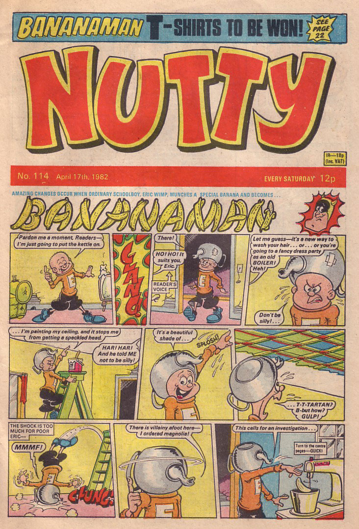 Nutty Issue 114 - cover dated 17th April 1982