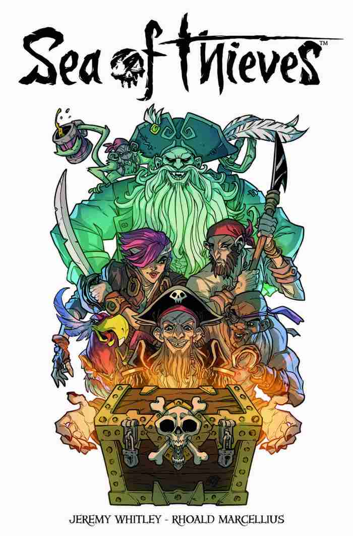 Sea of Thieves #1 Cover A: Rhoald Marcellius