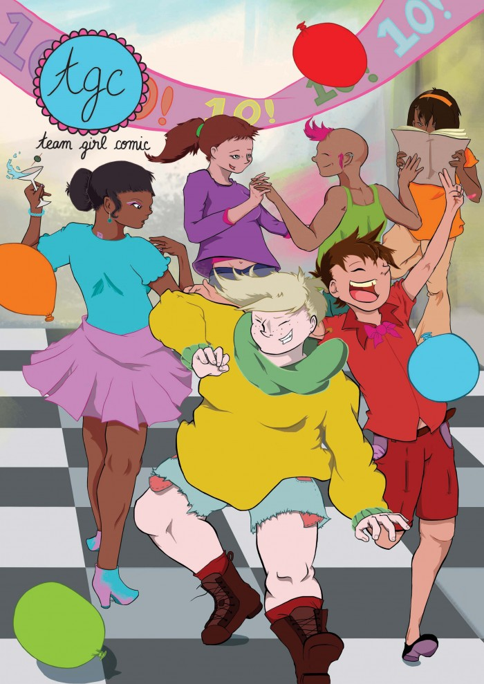Team Girl Comic Issue 10