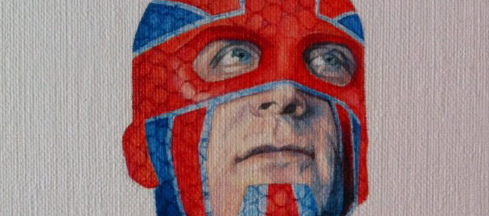 Captain Britain by Ciara McAvoy SNIP