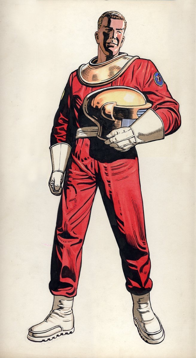 Dan Dare concept art by Keith Watson