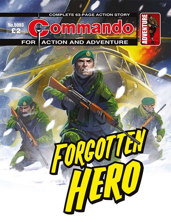 Commando 5093: Action and Adventure - Forgotten Hero