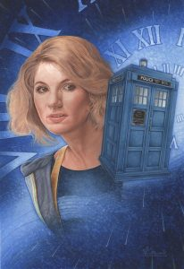 Jodie Whitaker as the Thirteenth Doctor by Pete Wallbank