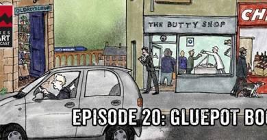 Lakes International Comic Art Festival Podcast Episode 20 - Gluepot Books