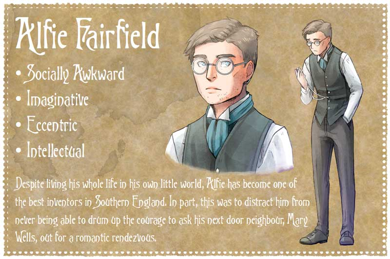 Milford Green - Graphic Novel - Alfie