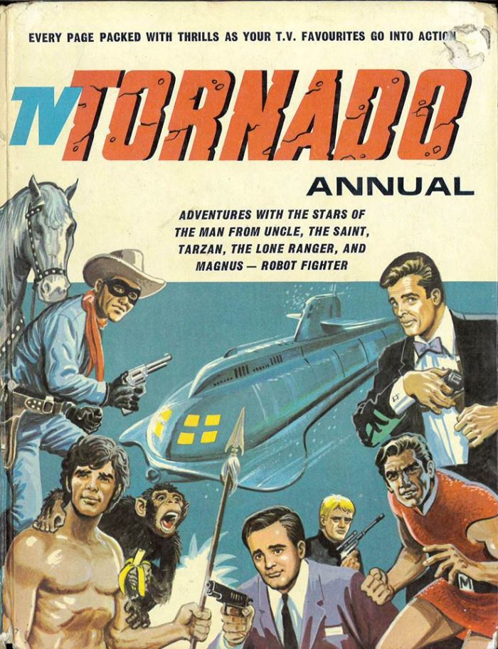 TV Tornado Annual 1969 - Cover