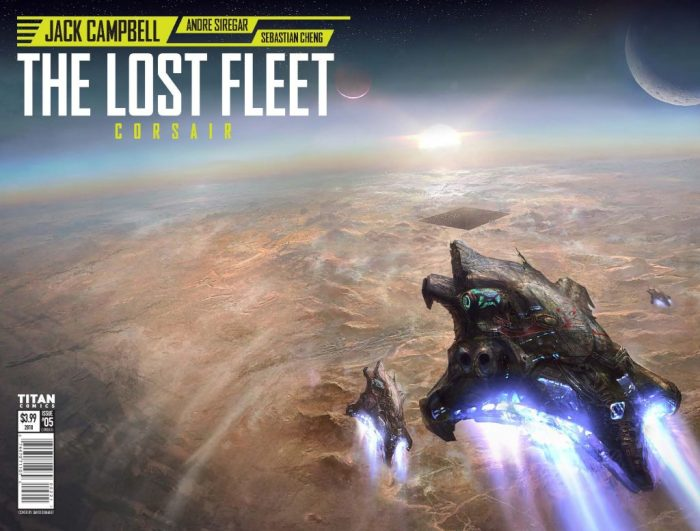 The Lost Fleet - Corsair #5 - Cover B by David Demaret