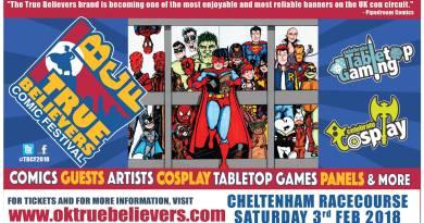 True Believers Comic Festival 2018