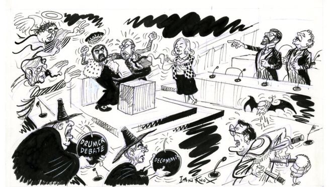 The First Day of Stormont by Ian Knox (1998)