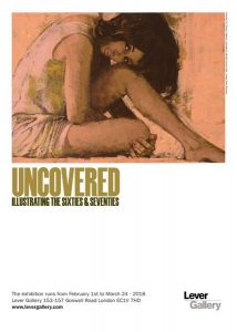 Uncovered: Illustrating the Sixties and Seventies Exhibition Poster