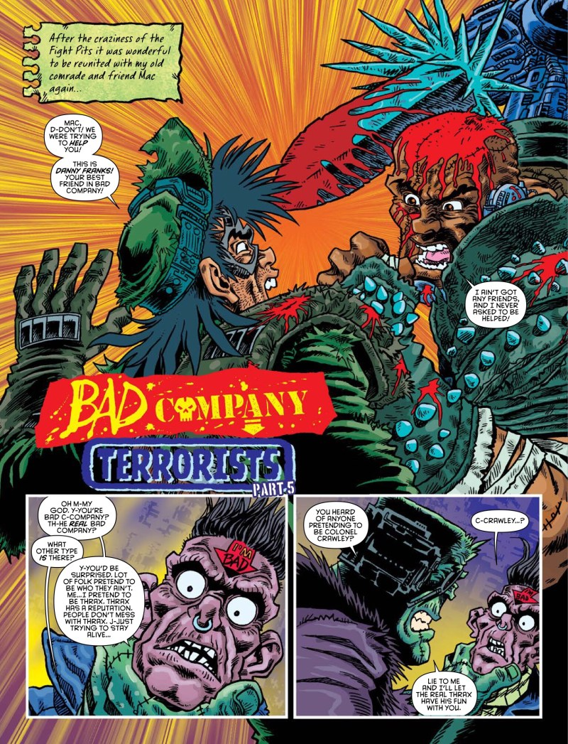 2000AD Prog 2065 - Bad Company