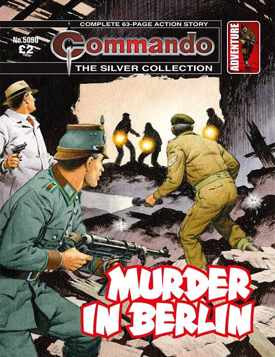 Commando 5090 Silver Collection: Murder in Berlin