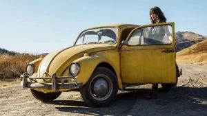 The first teaser image for Bumblebee: The Movie. Image: Paramount Pictures