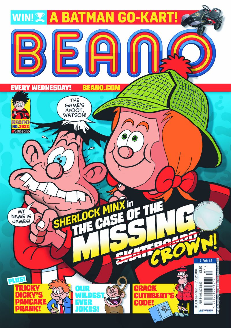 Beano - cover dated 17th February 2018