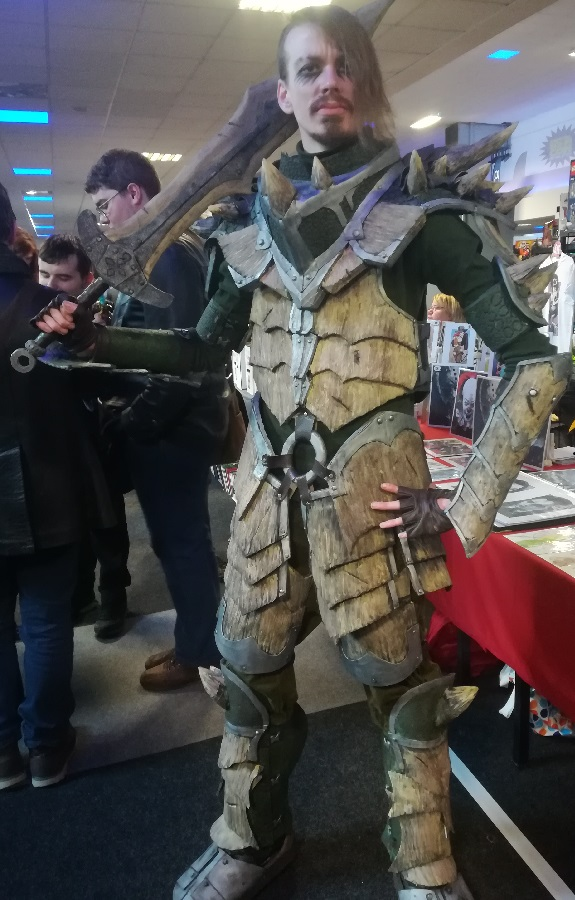 Skyrim Dragonbone Armour. Photo: Colin Noble