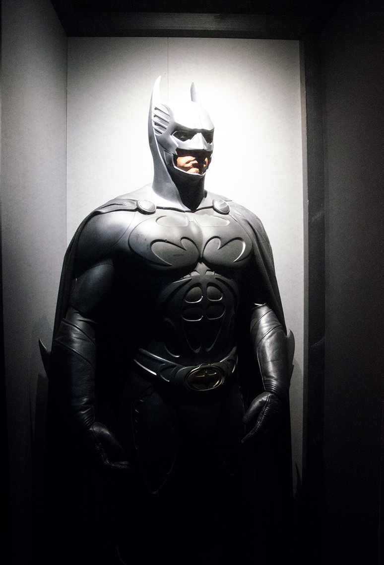 Batman costume. Image: Joel Meadows