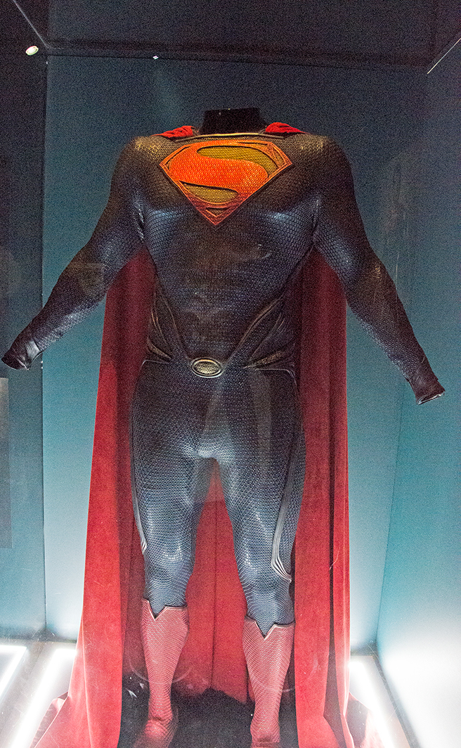 Man of Steel costume. Image: Joel Meadows