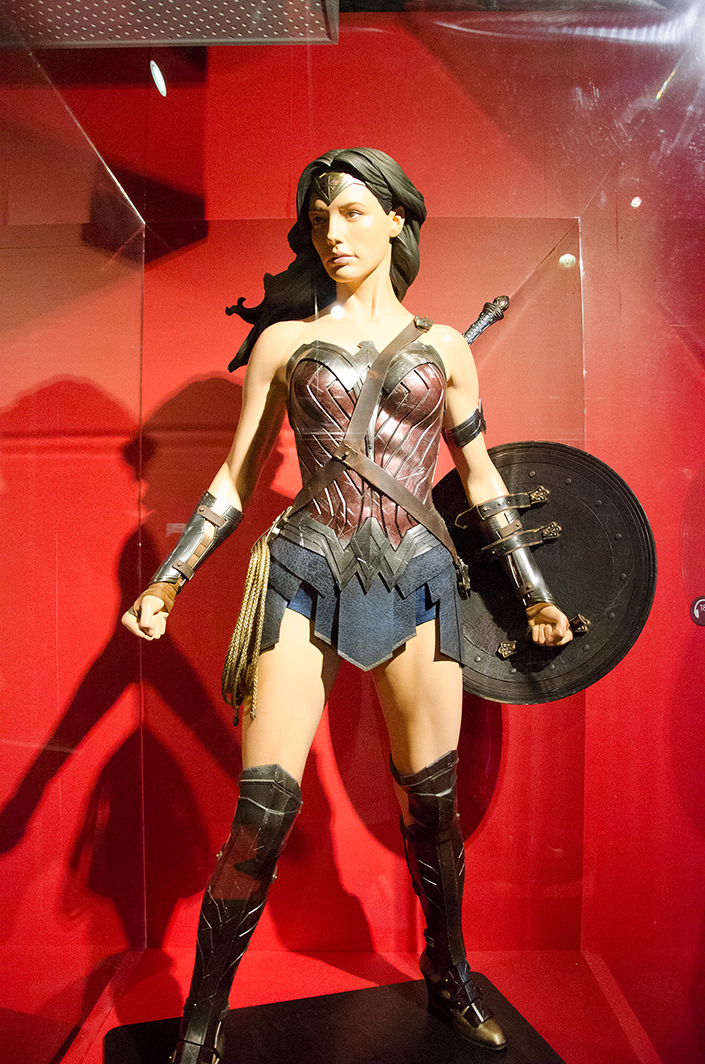 Wonder Woman costume. Image: Joel Meadows