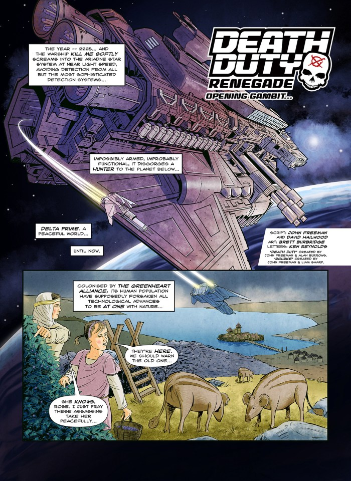Death Duty: Renegade - Preview Page 1