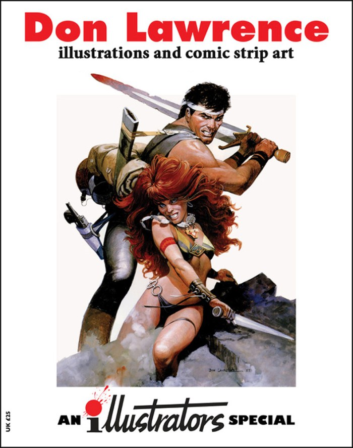 Illustrators magazine Special - Don Lawrence - Advance Cover