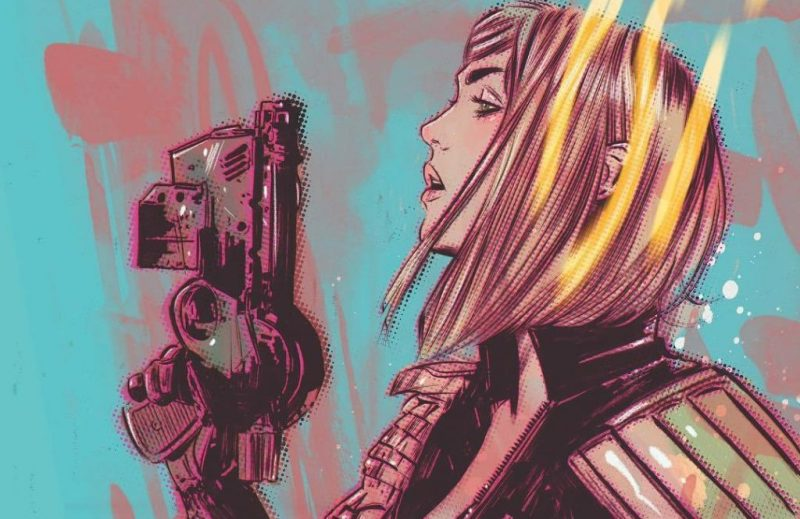 Judge Anderson art by Tula Lotay, previously released as a limited edition print
