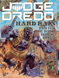 Judge Dredd Megazine 393 -Cover