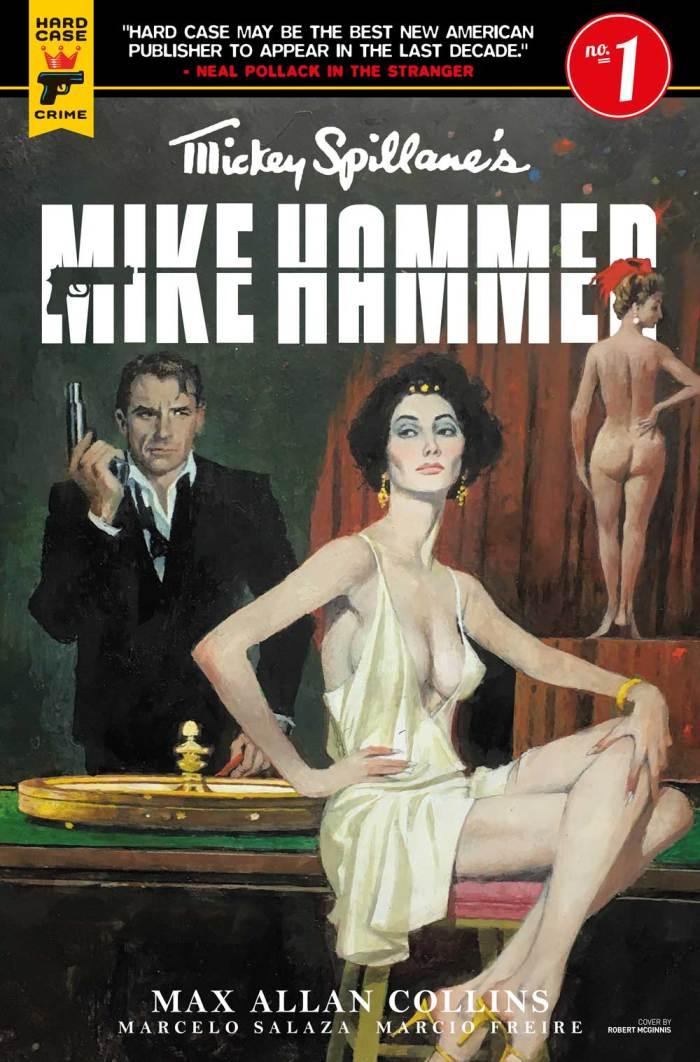 Mickey Spillane's Mike Hammer #1 Cover A: Robert McGinnis