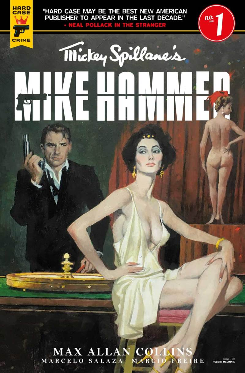 Mickey Spillane's Mike Hammer #1 Cover A: Robert McGinnis