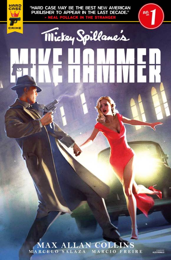 Mickey Spillane's Mike Hammer #1 Cover B: Alex Ronald