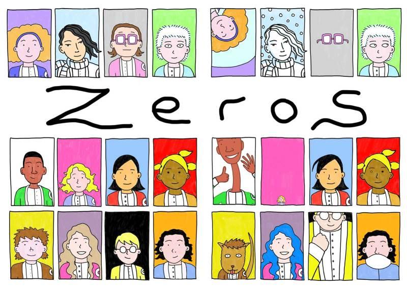 Zeroes by Martin Eden - Cast Spread