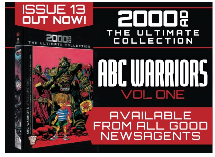 2000AD: The Ultimate Collection Issue 13 - ABC Warriors
