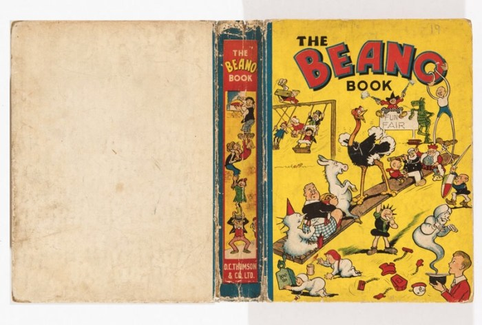 Beano Book 1 (1940) Pansy Potter balances the Beano Bunch!