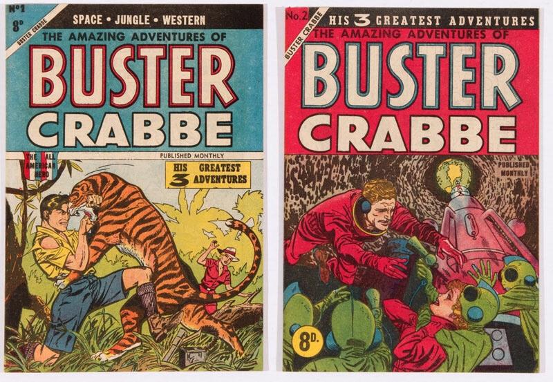 Buster Crabbe (1955 M Rubin, Australia) 1, 2