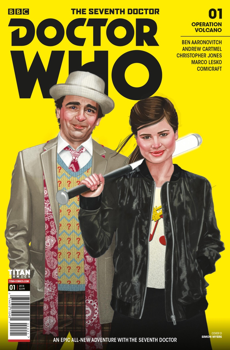 Doctor Who: The Seventh Doctor - Operation Volcano #1 - Cover by Simon Myers