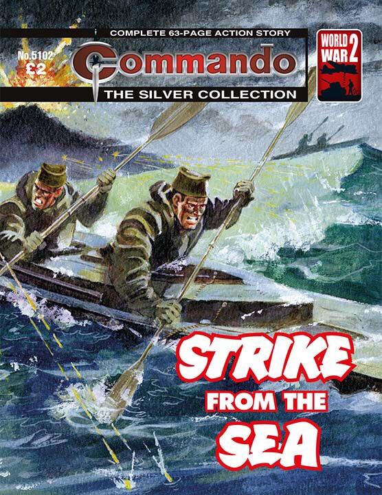 Commando 5102: Silver Collection - Strike from the Sea