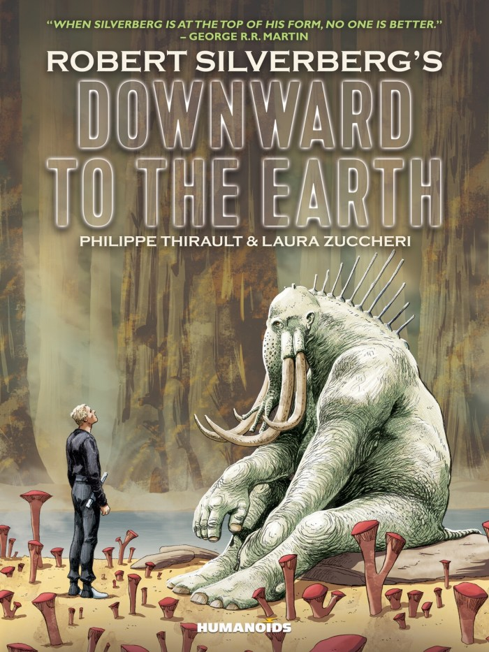 Downward to the Earth - Cover