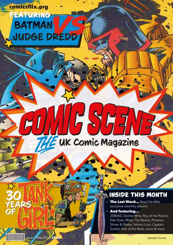 Comic Scene UK Issue 1 Cover