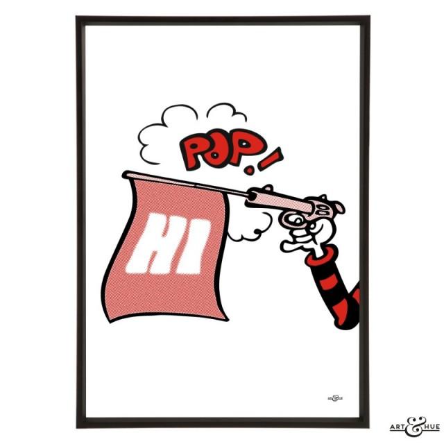 Art & Hue Beano -   Pop Gun