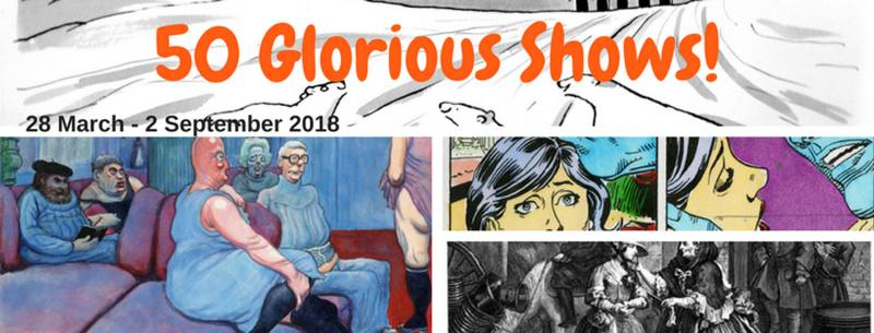 Cartoon Museum - 50 Glorious Shows