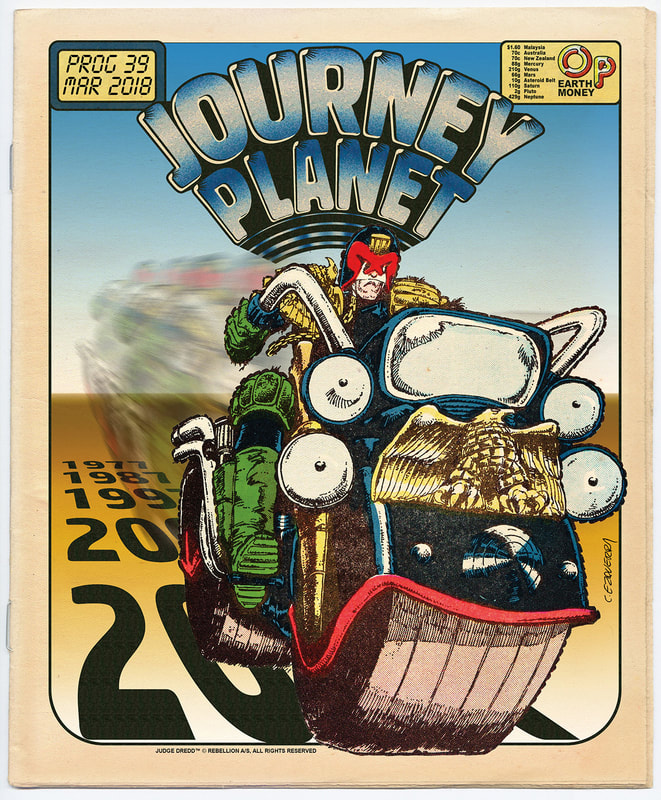 Journey Planet 39 - Judge Dredd - Cover