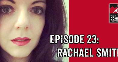 Lakes International Comic Art Festival Podcast Episode 23 - Rachael Smith