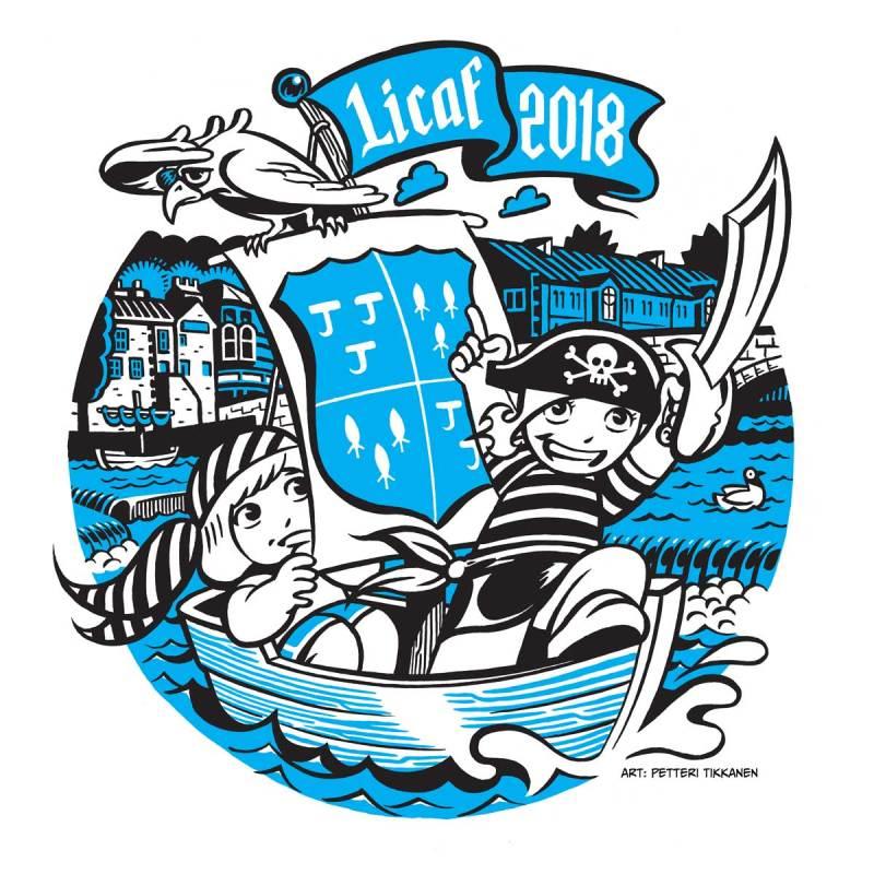 Lakes International Comic Art Festival 2018 Promotional Art by Petteri Tikkanen