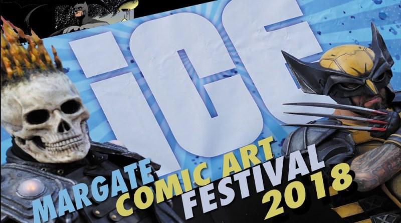 Margate Comic Art Festival 2018 Promotional Art