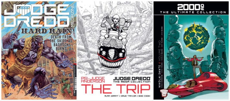 Judge Dredd Megazine Issue 393, 2000AD The Ultimate Collection Volume 12, Judge Dredd Mega Collection Issue 82