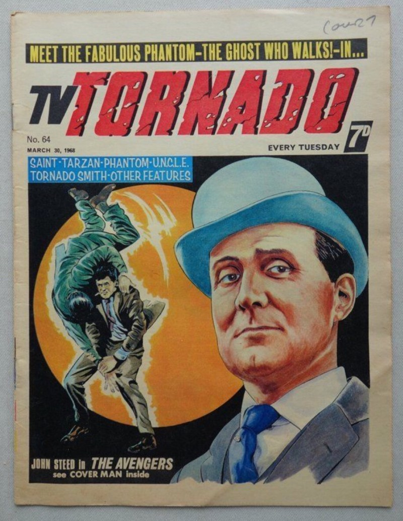 """TV Tornado Issue 64 - with """"The Avengers"""" cover"""