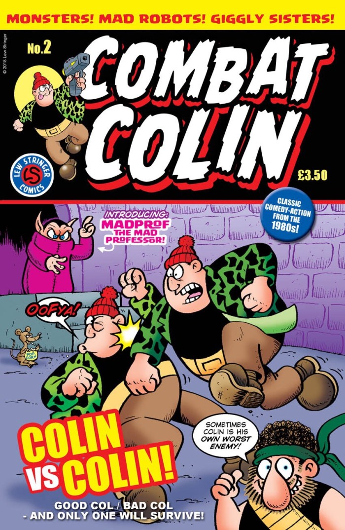 Combat Colin #2 by Lew Stringer - Cover
